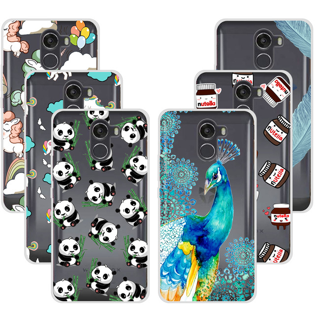 Fashion Panda Peacock Soft TPU Case For Wileyfox Swift 2 / Swift2 Plus Soft Silicone Phone Cases Back Cover For Wileyfox Swift 2