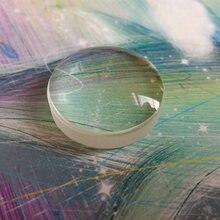 a42c2247da Defectuoso de vidrio óptico de longitud Focal 22mm óptico Plano doblete de  la lente convexa de la óptica física experimento de d.