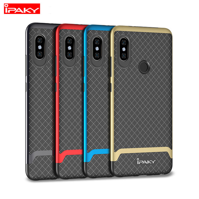 0c4361d5bc4 iPaky for Xiaomi Redmi Note 5 Case Classic Armor Silicone Back Cover for Xiaomi  Redmi Note 5 Pro Soft Hybrid 2in1 Phone Cases