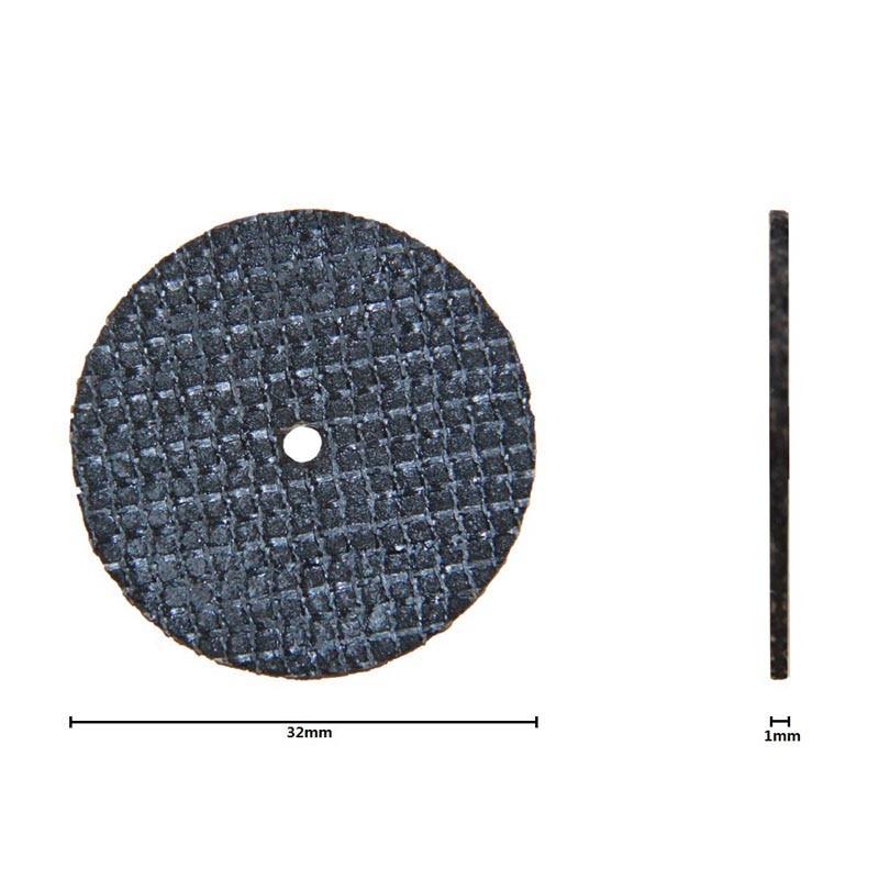 40pcs 32mm Fibra de sticlă de tăiere armată cu disc tăiat - Lama fierăstrău - Fotografie 2