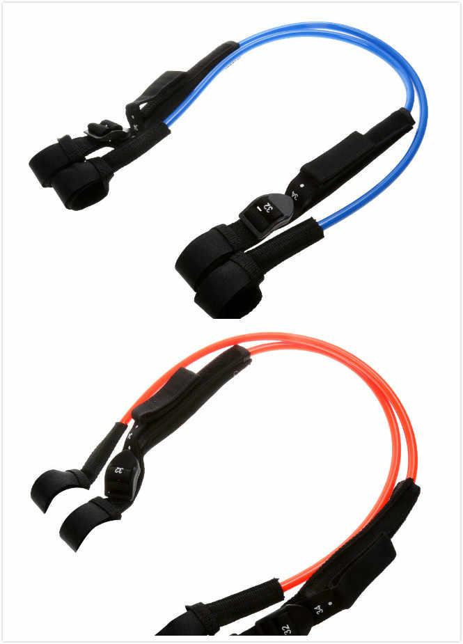 Prettyia 1 Pair Unisex Adjustable Performance TPU Windsurfing Harness Line for Windsurf Sailing Water Sports 28-34 inch 22-28 inch