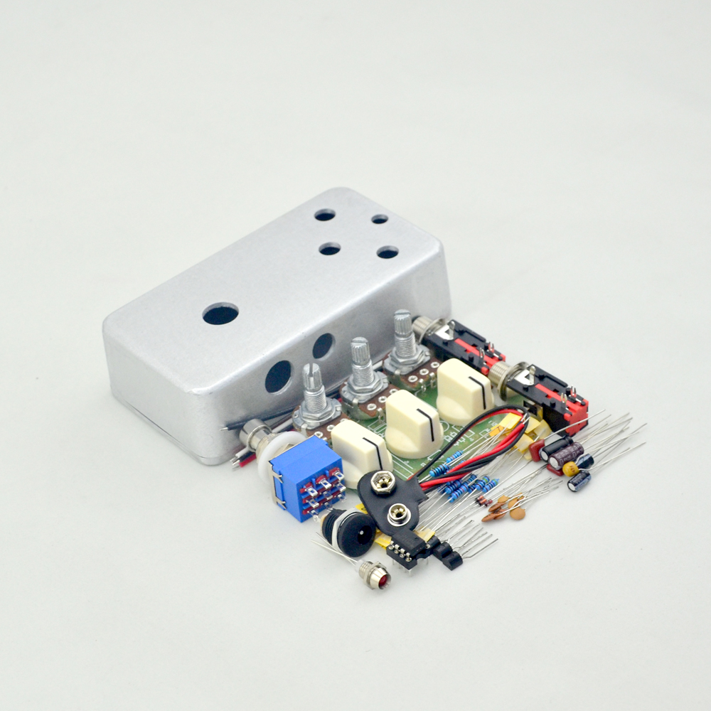 New DIY Guitar Distortion pedal  Effects true bypass with 1590B High Quality enclosure  Guitar Parts & Accessories mooer ensemble queen bass chorus effect pedal mini guitar effects true bypass with free connector and footswitch topper
