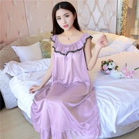 Горячие Для женщин ночные сорочки пижамы спальный платье Роскошная ночная рубашка Для женщин Повседневное ночь платье дамы дома туалетный ...