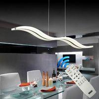 38w Dimmable LED Chandeliers Lamp White Acrylic Chandelier Light Lighting Luminaire Lustre For Living Dinning Room