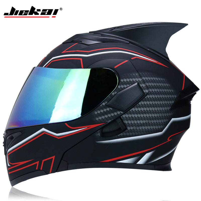 JIEKAI 902 motorcycle helmet flip double-sided cover helmet racing full face Moto Casco Size-2XL DOT approvedJIEKAI 902 motorcycle helmet flip double-sided cover helmet racing full face Moto Casco Size-2XL DOT approved