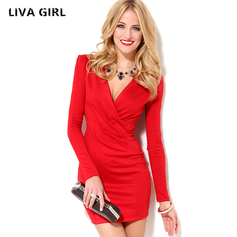 Vestidos Knitting 2017 Women Dresses Zipper v neck Sexy Knitted Dress Long Sleeve Bodycon Sheath Pack Hip Dress Vestidos lolen women s fashion sheath dress and long sections package hip sexy v neck long sleeved knitted dresses nightclub
