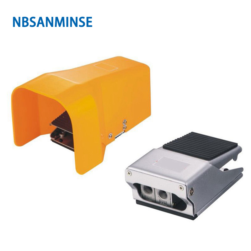 NBSANMINSE 1/4 Pneumatic Foot Valve Pedal Valve FA230 for Machine Package Injection Printing Automation