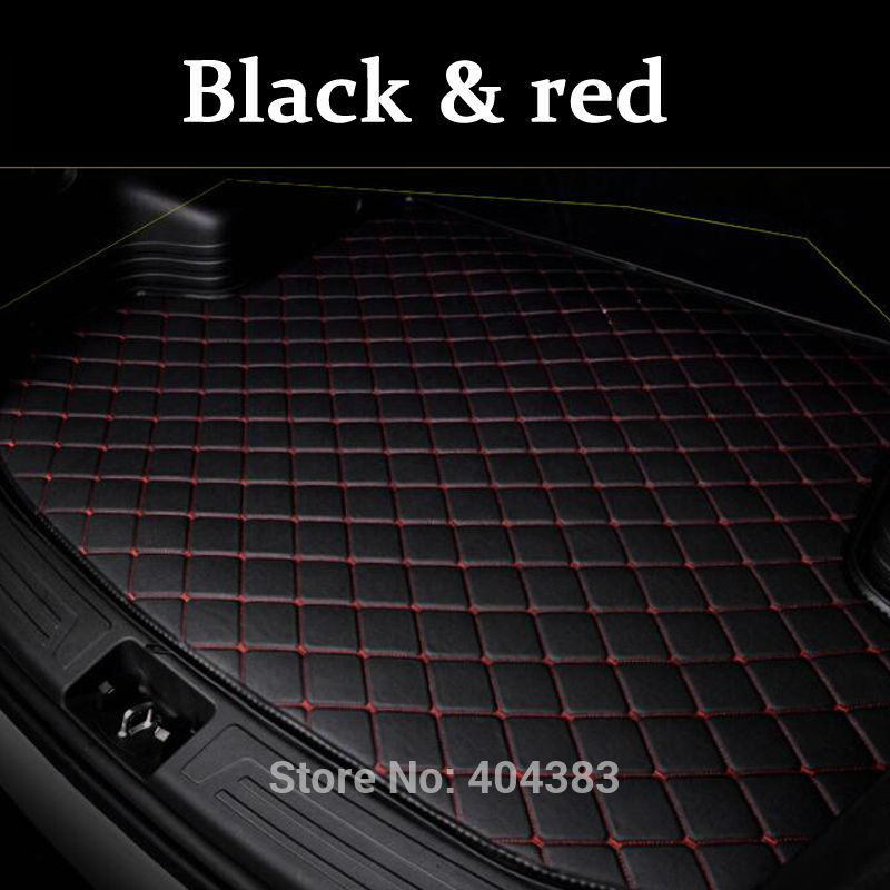 good quality fit car trunk mat for Volvo C30 S60L S80L V40 V60 XC60 XC90 3D car styling heavy duty tray carpet cargo liner custom fit car trunk mat for nissan altima rouge x trail murano sylphy versa tiida 3d car styling tray carpet cargo liner