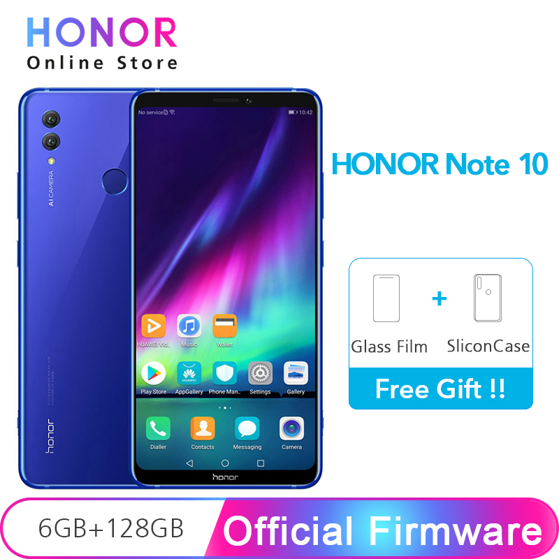 Original Huawei Honor Note 10 6gb Ram 128gb Note10 6.95 24mp Dual Camera Nfc 5000mah Battery Octa Core Mobile Phone Curing Cough And Facilitating Expectoration And Relieving Hoarseness Cellphones & Telecommunications