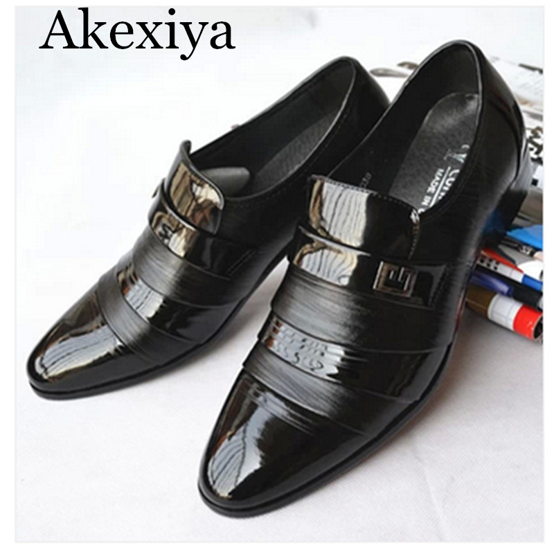 Avocado Store Akexiya Free Shipping 2017 New  Leather Business Shoes Men Classic Shoes Men Casual Leather Oxfords Men Dress Shoes size:38-44