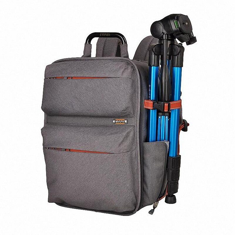 ФОТО Professional Brand Waterproof Nylon SLR Photo Bag to Camera Mochila Digital DSLR Camera Bag 14 inch laptop Backpack LI-973