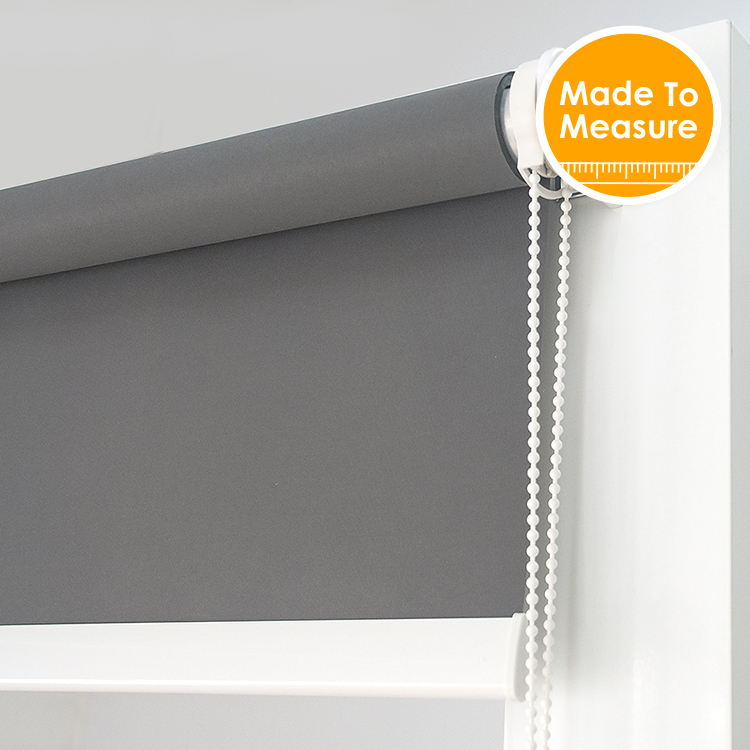 38mm rura aluminiowa z światła dziennego rolety do salonu wysokiej jakości światła filtrowania dla dużych zacienienie okna dostosowany rozmiar w Rolety, żaluzje i zasłony od Dom i ogród na  Grupa 1