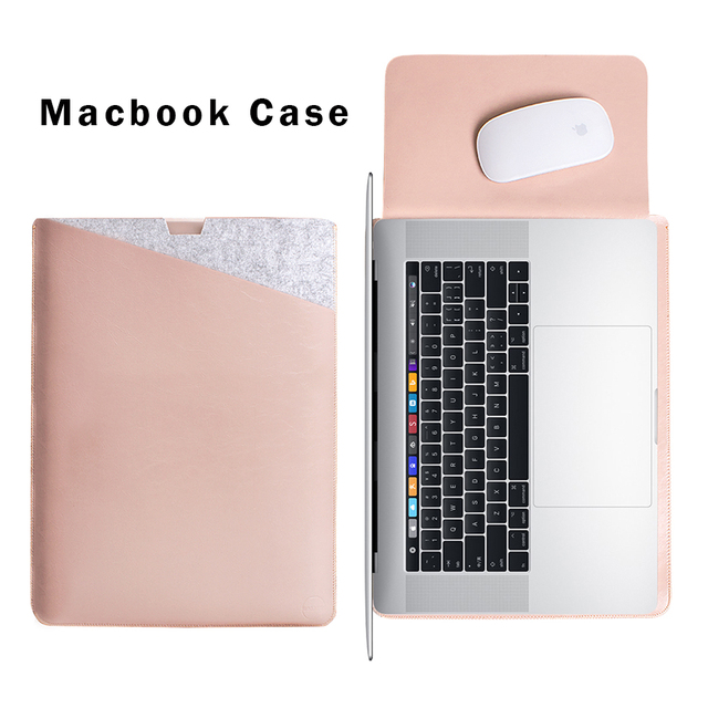 WALNEW Case for MacBook Pro 13 Case for Apple MacBook 15 Retina 2016 with Type-C Laptop Sleeve 15.6 Computer Notebook Laptop Bag