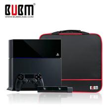 BUBM Travel Case For PlayStation4 PS4 XBOX ONE X PS4 Slim PS3 Console Storage Bag Handle Bags Controller Carrying Case