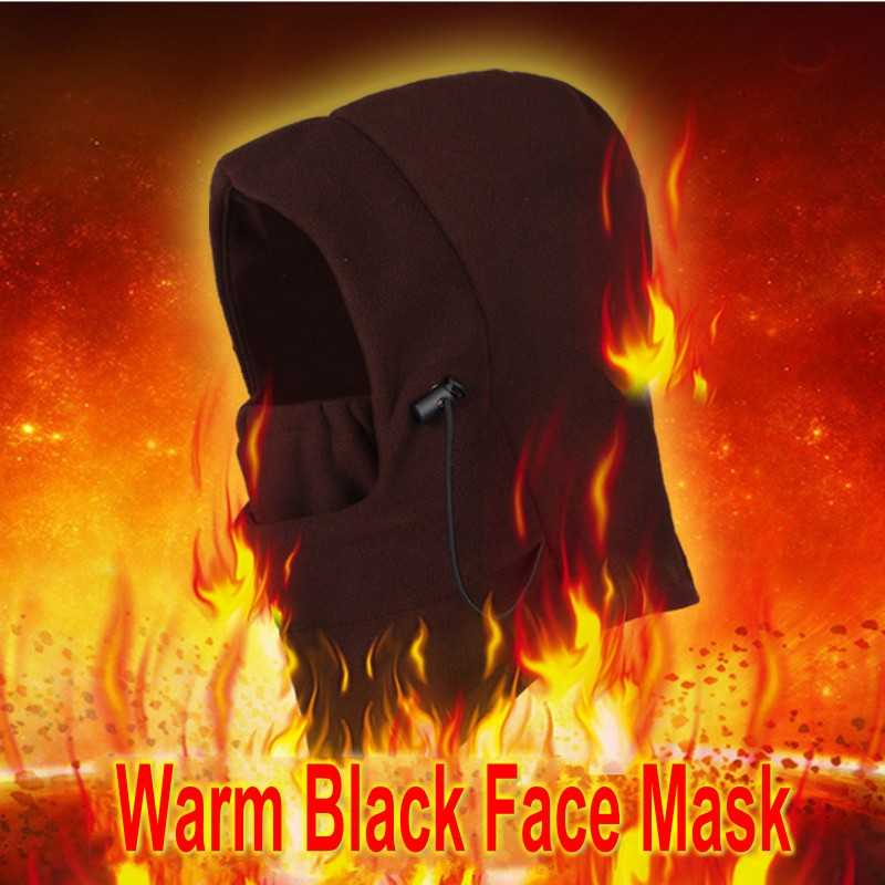 New Winter Warm Fleece Full Face Mask Unisex Fashion Balaclava Half Masks Hat Cover Caps Outdoor Sports Neck Scarf Mask 2019