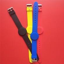 13.56MHz IC M1 S50 Nfc Tag Adjustable RFID Bracelet Wristband Waterproof