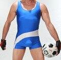 Larga para hombre de la Personalidad de la ropa interior de Peluche Wrestling singlet Culturismo Apretado Traje de Hombre de Una sola Pieza Traje de Engranajes G8003