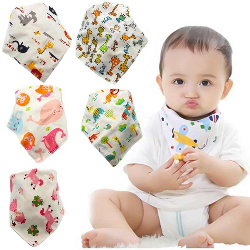 0c636f1adea1e 1Pcs Cotton New Baby Babador Bandana Bibs For Babies Scarf Boys Girls Baby  Bib Burp Cloths