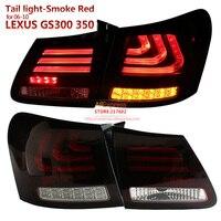 SONAR бренд для Lexus GS300 GS350 GS430 gs450 2006 2010 год светодиодные задние фонари Дым Красный Корпус Одежда высшего качества легко установить