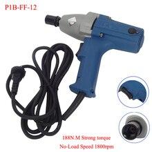 300 W 188N. M 1800 rpm Elektryczny Klucz M8-M12 Korzystanie zakres 220 V/50 hz P1B-FF-12 Wpływ Elektryczny klucz 1/2 inch Gniazdo 12.7×12.7mm