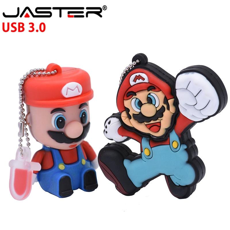 USB 2.0 Flash Pen Drive Super Mario Storage Gift Memory Cute Cartoon