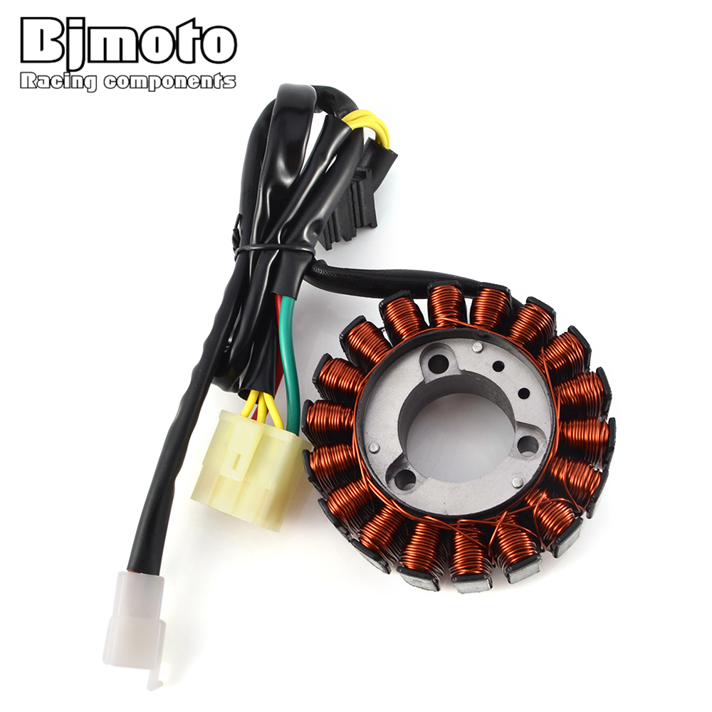 BJMOTO Motorcycle Magneto Ignition Stator Generator Coil For Honda CB400 VTEC NC39 1999-2006