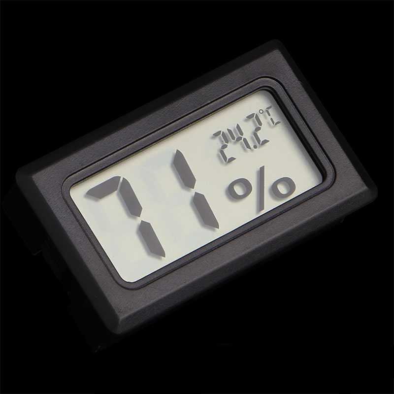 Digital LCD Thermometer Hygrometer for font b Pet b font Ant Farm Reptiles Turtle Box Temperature