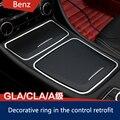 CLA de Benzz Mercedess GLA Modificaciones En El Control Especial Cenicero Caja de Almacenamiento Decorativo Decorativo Reacondicionamiento Interior