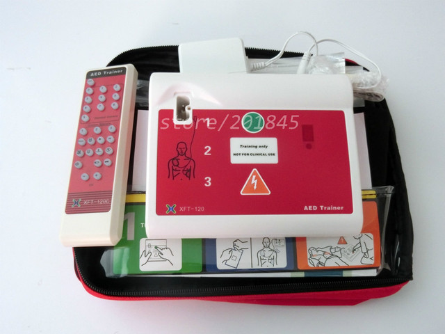Automatic External Defibrillator AED Trainer In English & French