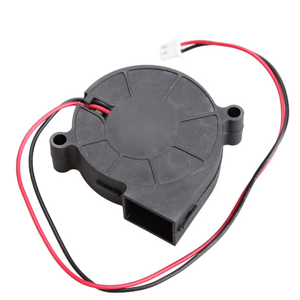 Ultra Quiet MID Speed Black Brushless DC Cooling Blower Fan DC 5V / 0.1-0.3A 50x15mm  XXM ultra black