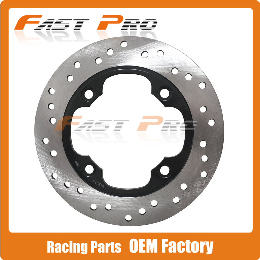 Rear Brake Disc Rotor For Honda CBR250 CB250F HORNET MC17 FES250 NSS250 REFLEX CB CBR 400 600RR 900 929 954 RR 1000 F4I VTR1000 wotefusi rear brake disc rotor for fjs 400 600 silverwing sw t 400 a9 scooter c abs [mt104]