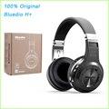 100% Original Bluedio H + Fone De Ouvido Bluetooth 4.1 Estéreo de ALTA FIDELIDADE Fones de Ouvido Sem Fio Fones de Ouvido Bluetooth Para Chamadas de Música com Mic FM