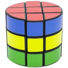 3*3*3 Творческий Кубик рубика Цилиндрические Скорость магия играть в куб Дети Обучающие Логические Игрушки для для взрослых и детей