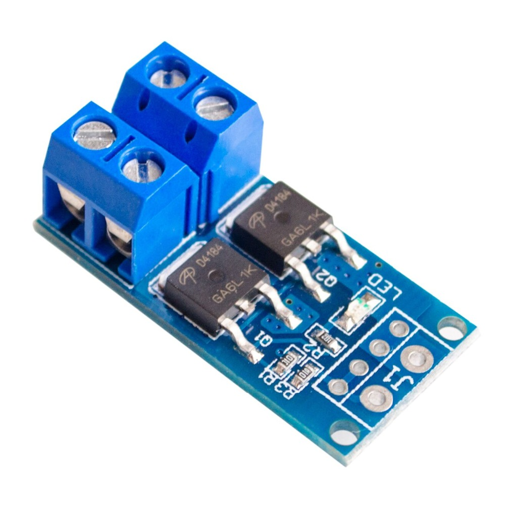 DC 5V-36V High Power MOS Tube Trigger Switch Driving Module Field Effect Transistor PWM Adjust Switch Control Board
