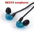 Nuevo Mejor Calidad SE215 Wired 3.5 MM Estéreo En la Oreja los Auriculares de Cancelación de Ruido de Alta Fidelidad de Graves auriculares para el iphone Samsung