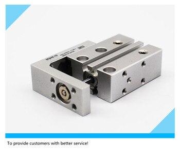 MXH6-5 MXH6-10 MXH6-15 MXH6-20 MXH 6-30 HLH 6-5 Precisio pneumatic slide guide rod cylinder HLH6-30 цена 2017
