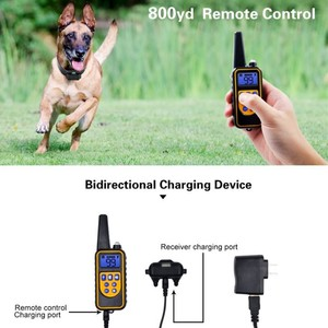 Image 3 - 800yd Electric remote Dog Training Collar Waterproof Rechargeable LCD Display for All Size beep Shock Vibration mode 40%off