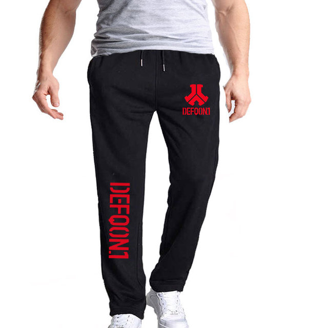 New Autumn Mens Joggers Defqon 1 Fitness Casual Joggers Sweatpants Bottom Music Concert DJ For Cool And Fashion Pants For Men 5