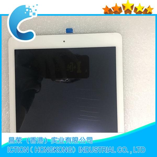 Marca nueva A1567 A1566 LCD digitalizador Asamblea iPad aire caso de iPad 2 asamblea de pantalla LCD de pantalla táctil de Color blanco