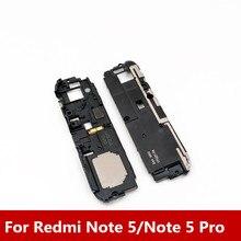 Nova Altifalante Buzzer Ringer Para Xiaomi Redmi Nota 5/Note 5 Pro Speaker Chamada Sino Altifalante Placa do Receptor completa de Peças
