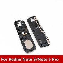 חדש רמקול זמזם רינגר עבור Xiaomi Redmi הערה 5/הערה 5 פרו שיחת רמקול פעמון Loud רמקול מקלט לוח חלקים שלמים
