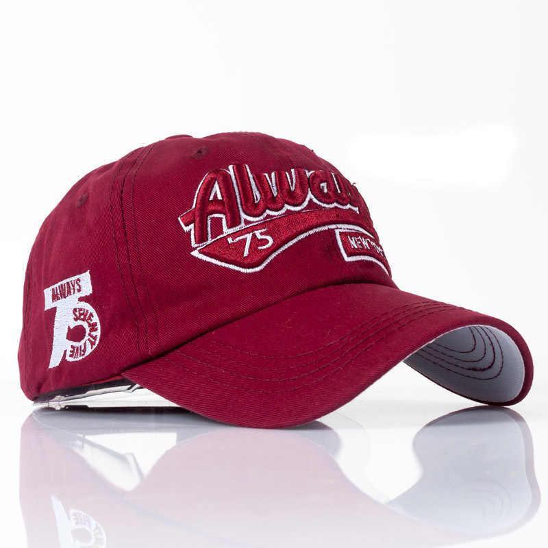 新ファッション米国海兵手紙刺繍野球帽高品質カジュアル帽子春男性女性綿調節可能な骨男性