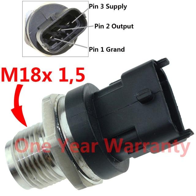 US $42 97 23% OFF|11 14 Diesel CR Fuel Pressure Sensor Regulator For  Chevrolet Sierra Savana 2500 3500 4500 HD 6 6L Duramax 0281006313 12 651  990-in