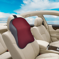 Car Auto Seat Soft Headrest Memory Foam Pad Pillow Head Neck Rest Support Cushion Travel For