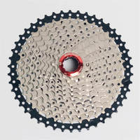 BOLANY MTB Mountain Bike Cassette X8 11 Speed 11 46T Bike Freewheel Wide Ratio Flywheels Available For shimano SRAM System