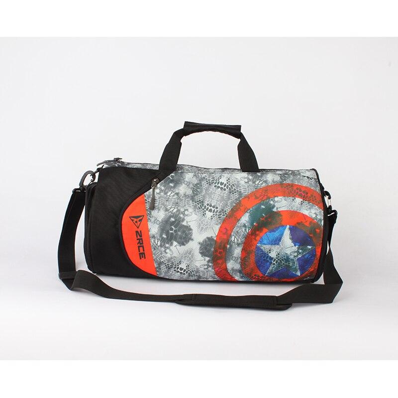 Zrce Футбол сумка Для мужчин для спортзала Бег Кемпинг обучение Водонепроницаемый сумка Баскетбол Фитнес плюс Ёмкость Для женщин спортивная сумка