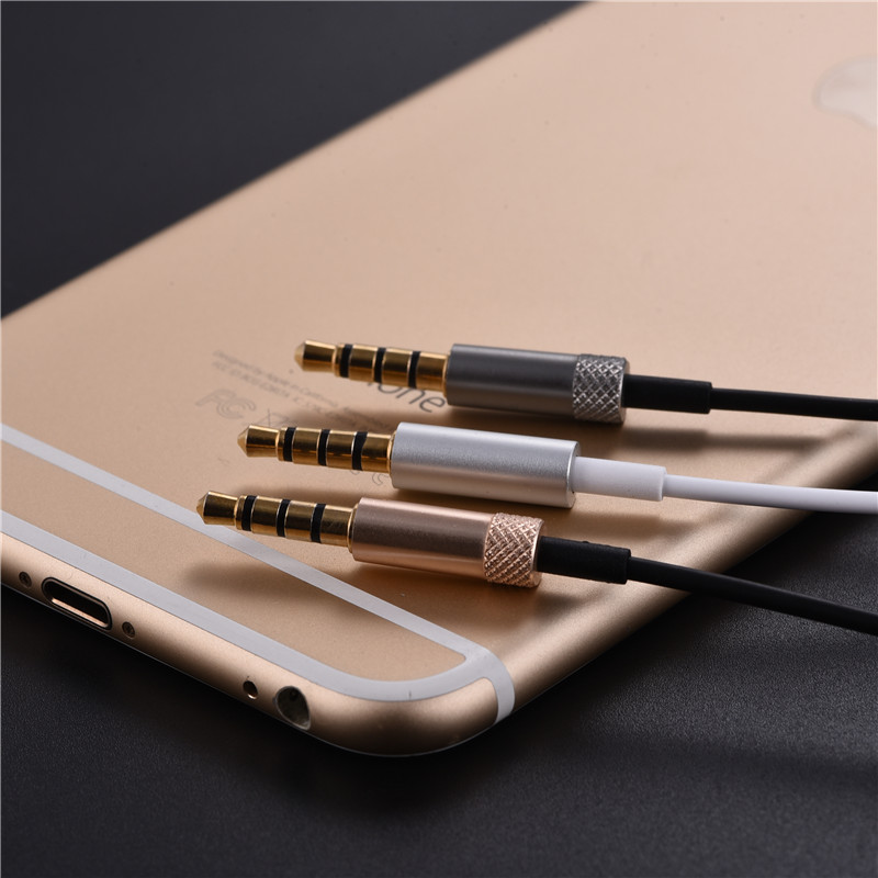 Professional Earphone Metal Heavy Bass Music Earpiece for ZTE Project CSX Headset fone de ouvido With Mic