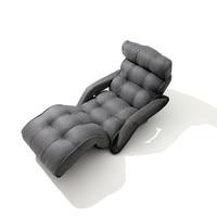 עכשווי מתקפל כיסא מיטה בסגנון יפני מתקפל ספה אחת אפור סלון ריהוט תכליתי מיני ספת כיסא-בכיסא נוח מתוך ריהוט באתר