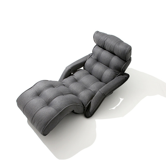 Contemporary Folding Chair Bed Japanese Style Foldable Single Sofa Grey Living Room Furniture Multifunction Mini Sofa  sc 1 st  AliExpress.com & Contemporary Folding Chair Bed Japanese Style Foldable Single Sofa ...