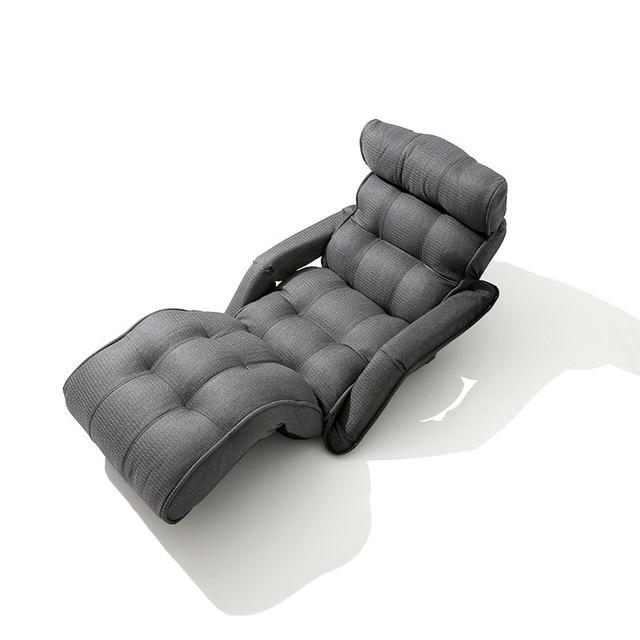 Zeitgenssische Klappstuhl Bett Japanischen Stil Faltbare Einzigen Sofa Grau Wohnzimmer Mbel Multifunktions Mini Stuhl